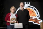 Photograph by Emily Whitfield-WicksWolrd Pasty Championships. Eden Project. The Winners. Jan Micallef.